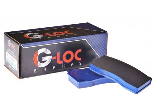 G-LOC Brakes - G-Loc R12 - GP537 - Honda S2000 / Acura RSX-S / Honda Civic Si / Honda CRZ / Acura Integra Type-R - Rear Pads