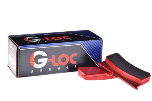 G-LOC Brakes - G-Loc GS-1 - GP537 - Honda S2000 / Acura RSX-S / Honda Civic Si / Honda CRZ / Acura Integra Type-R - Rear Pads