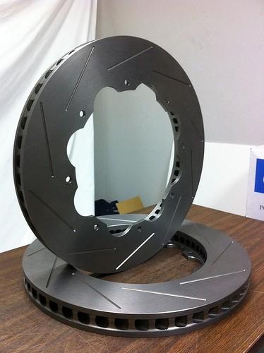 Project Mu 2-Piece Brake Disc Replacement - SCR-PRO - Rear Left - GTR