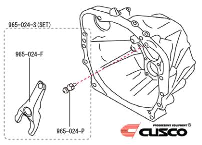 Cusco - HD Release Fork & Pivot Ball - Subaru BRZ / Scion FR-S / Toyota GT86 - 965 024 S