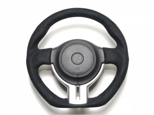 Cusco - Sport Steering Wheel - Leather - 350mm - BRZ / FRS / GT86 - 965 763 A