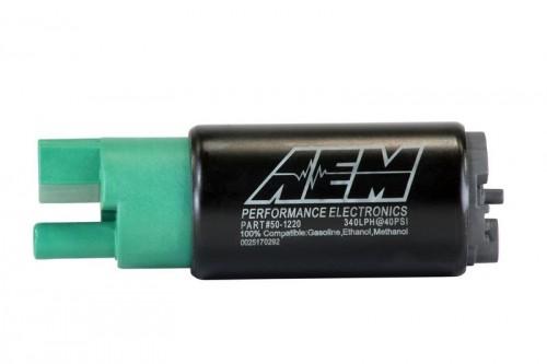 AEM 320LPH 65mm Fuel Pump Kit w/o Mounting Hooks - Ethanol Compatible