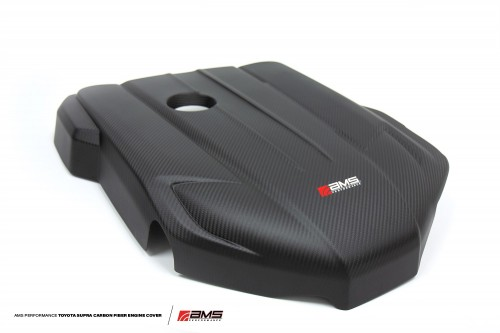 AMS Performance - Carbon Fiber Engine Cover - MKV A90 Toyota Supra