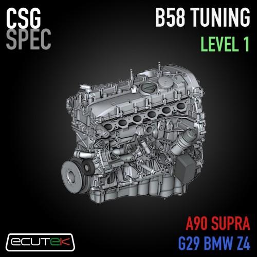"CSG Spec - Level 1 Tune ""OEM+"" -  ECUTEK - A90 Toyota GR Supra / G29 BMW Z4"