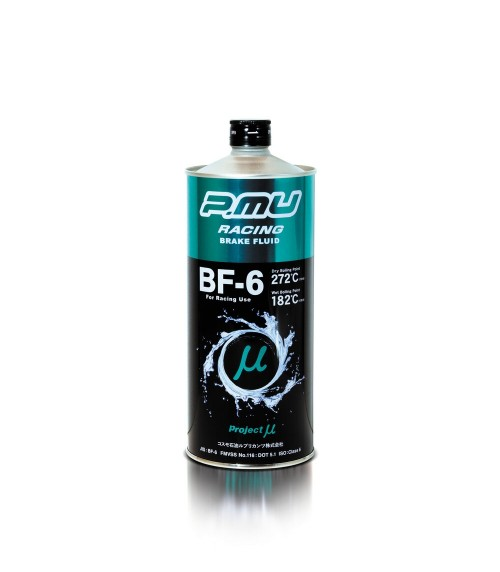 P.MU Racing - BF-6 - Racing Brake Fluid - DOT 5.1 - 1 Liter