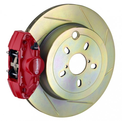 "Brembo - GT Systems - 316x20mm (12.4"") Disc - 2-Piston Caliper - Big Brake Kit - REAR - Subaru BRZ / Scion FR-S / Toyota GT86 - 2E-.5003A-"