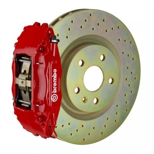 "Brembo - GT Systems - 326x30mm (12.8"") Disc - 4-Piston Caliper - Big Brake Kit - FRONT - Subaru BRZ / Scion FR-S / Toyota GT86 - 1H-.6005A-"