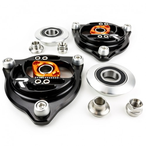 Raceseng - CasCam - Caster + Camber Plates With Spring Perch - BRZ / FRS - OEM