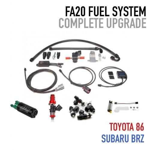 FA20 Complete Fuel System Upgrade - UPGRADE POWER PACKAGE 2.0 - E85 Flex Fuel - Subaru BRZ / Scion FR-S / Toyota GT86