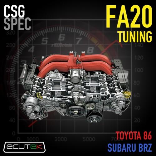 CSG Spec - Custom Tuning Service FA20 / FA24 - ECUTEK - Toyota 86 / Subaru BRZ / Scion FR-S