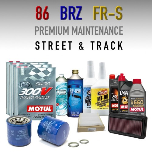 Premium Performance Maintenance Package - Subaru BRZ / Scion FR-S / Toyota 86