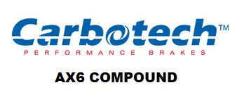 Carbotech AX6 - CT78772-RNP - A90 MKV Toyota Supra Base / G29 BMW Z4 - REAR