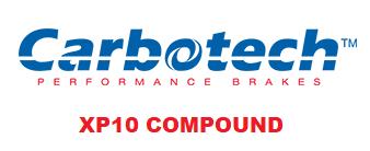 Carbotech XP10 - CT78772-F - A90 MKV Toyota Supra RZ / G29 BMW Z4 M40i - FRONT