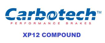 Carbotech XP12 - CT78772-F - A90 MKV Toyota Supra RZ / G29 BMW Z4 M40i - FRONT