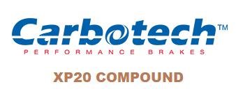 Carbotech XP20 - CT78772-RP - A90 MKV Toyota Supra Premium / G29 BMW Z4 M40i - REAR