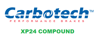 Carbotech XP24 - CT78772-F - A90 MKV Toyota Supra RZ / G29 BMW Z4 M40i - FRONT