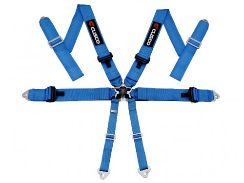 Cusco - 6 Point Racing Harness - Blue