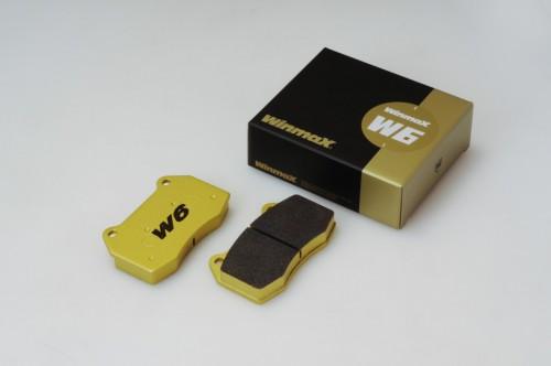 Winmax W6 Front Brake Pads - Subaru BRZ Brembo PP / Honda Civic Type-R FK8 / WRX STI / Mitsubishi Evolution