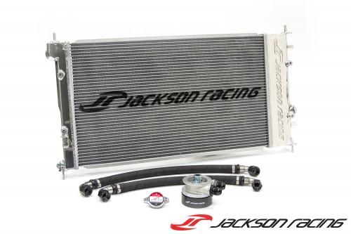Jackson Racing - Dual Radiator/Oil Cooler - Subaru BRZ / Scion FR-S / Toyota GT86 - DISCONTINUED