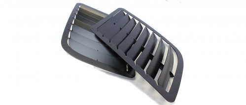 Trackspec - Hood Side Vent Kit - BMW E46 M3