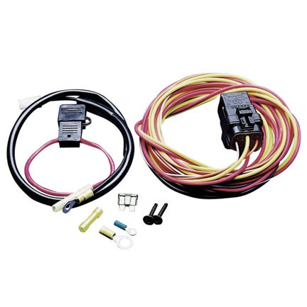 SPAL Fan Relay Harness Kit - 12V Application