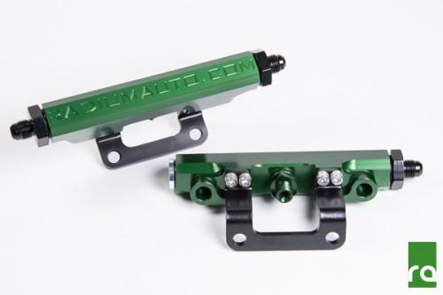 Radium Engineering - Fuel Rail Kit - Green - 20-0111-01 - Subaru BRZ / Scion FRS / Toyota GT86