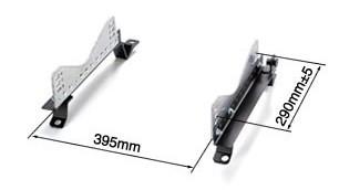 Bride - Type-FX - Seat Rail Kit - Zeta III Series / XERO - A90 Toyota GR Supra - BRDS-G10XFX