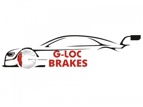 "G-LOC Brakes - G-Loc GS-1 - GP1001B - .690"" / 17.5mm Thickness - Brembo 4-Piston Caliper"