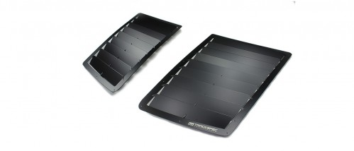 Trackspec - GT500 Hood Vents / Louvers - 2005-2009 Ford Mustang GT500
