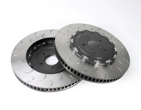 AP Racing J-Hook 2-Piece Brake Discs (390mm x 34mm) - 2009-2011 GTR