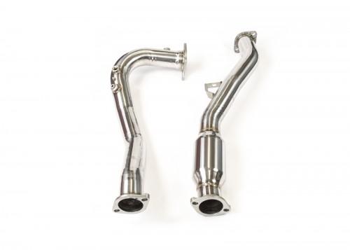 Invidia - J-Pipe - Subaru WRX Manual (VA) - Wideband BUNG & High Flow Cat - Down-Pipe