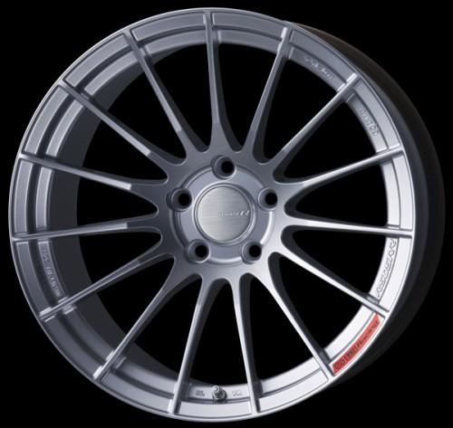 Enkei RS05RR - 18x9.5 +43 / 5x100 / 75.0mm Bore - Sparkle Silver - Scion FRS / Subaru BRZ / Toyota GT86