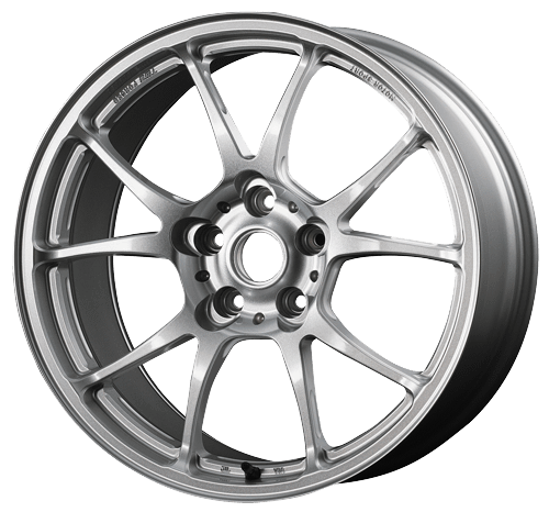 TWS Motorsport T66-F - 18x9.5J +40 / 5x114.3 - 73.1mm Bore - Gloss Silver