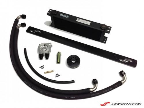 Jackson Racing Oil Cooler Kit - FI Application - BRZ/FRS - DISCONTINUED