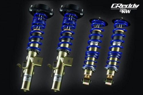 GReddy x KW Suspension - 1-Way - Subaru BRZ / Scion FR-S / Toyota GT86 - Zenki - 14016101