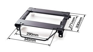 Bride - Type-MO - Seat Rail Kit - Euroster Series / Streams Series / Digo Series - A90 Toyota GR Supra - BRDS-G10XMO