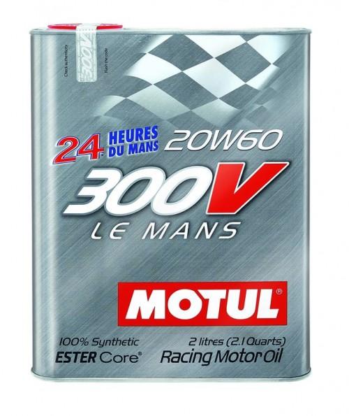"Motul 300V ""LE MANS"" 20W60 - 2 Liter Tin"
