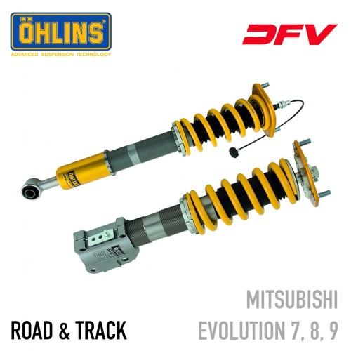 Öhlins Road & Track DFV Coil-Over Suspension - Mitsubishi Lancer Evolution 7, 8, 9