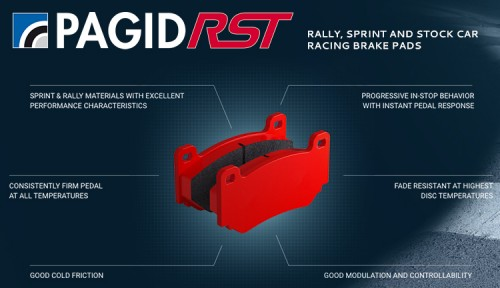Pagid RST5 - AP Racing CP8350 / CP8250 - D41 Radial Depth
