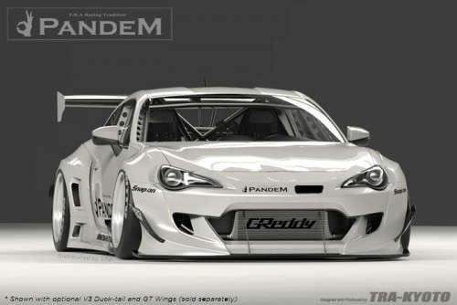 GReddy - Rocket Bunny Wide-Body Aero Kit - Version 3 - Pandem - Subaru BRZ / Scion FR-S / Toyota GT86