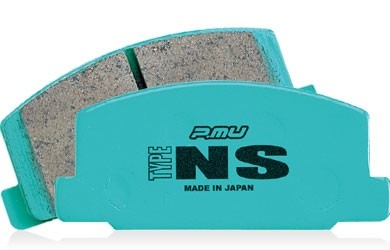 Project Mu Type NS Front Brake Pads - Honda S2000 / Acura RSX Type-S