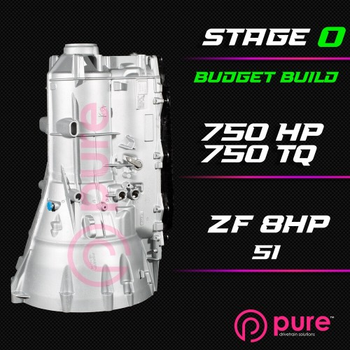 Pure - ZF 8HP 51 Stage 0 Transmission Rebuild