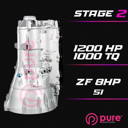 Pure - ZF 8HP 51 Stage 2 Transmission Rebuild