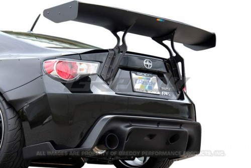 GReddy - Rocket Bunny GT Rear Wing - Subaru BRZ / Scion FR-S / Toyota GT86 - 17010216