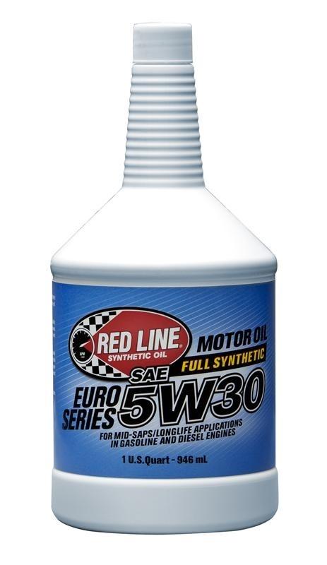 Red Line - EURO-SERIES - 5W30 - Motor Oil - 1 Quart
