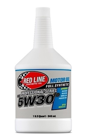 Red Line - PROFESSIONAL-SERIES - 5W30TD - Motor Oil - 1 Quart