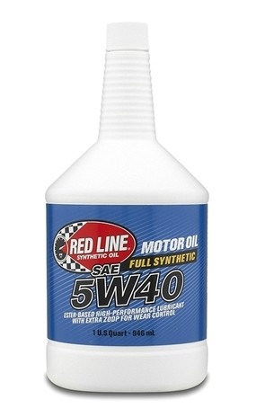Red Line - 5W40 - Motor Oil - 1 Quart