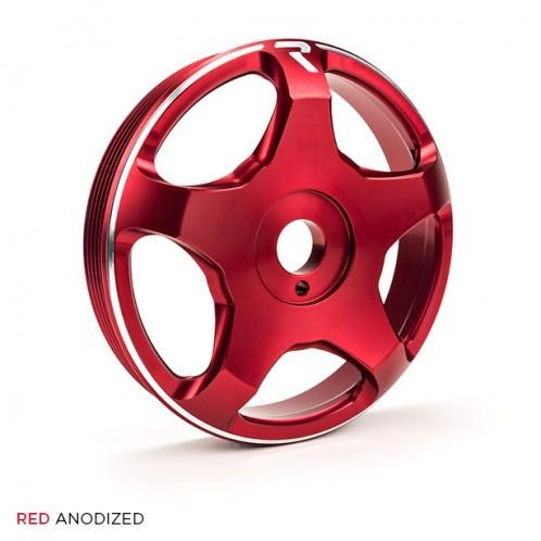Raceseng Revo FA / FB Crank Pulley - Red - Toyota GT86 / Scion FR-S / Subaru BRZ | 2013+