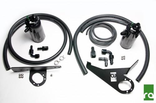 Radium Engineering - Dual Catch Can Kit - 20-0096 - Honda S2000 AP1 (2000-2005) - LHD