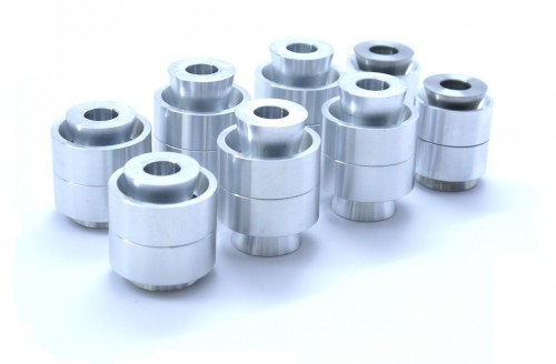 SPL FKS Rear Knuckle Monoball Bushings - Z34 / 370Z